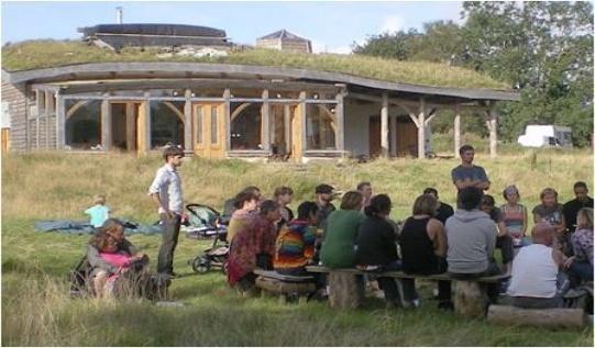Экологическое поселение. Деревня Ламмас-Уэльс