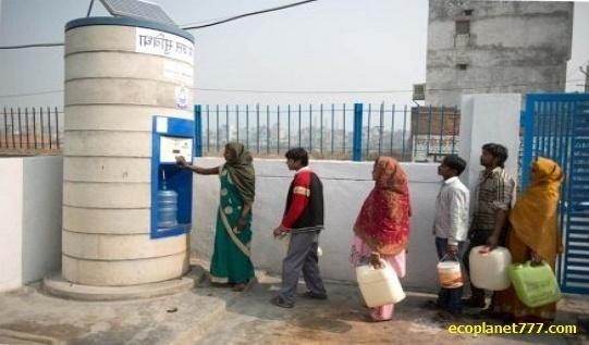 Автоматы Sarvajal - доступ к чистой воде