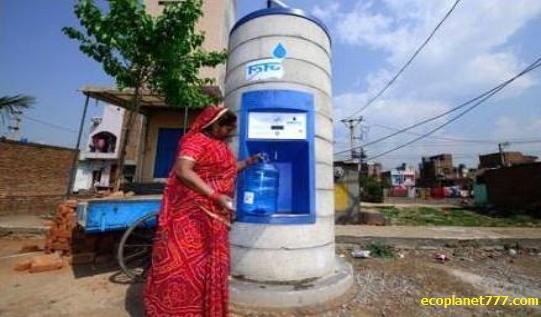 Чистая питьевая вода доступная в Индии