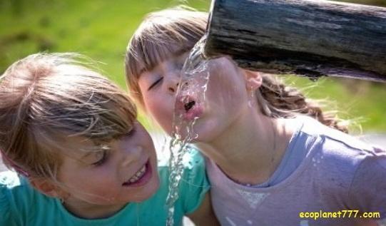 Источник чистой питьевой воды