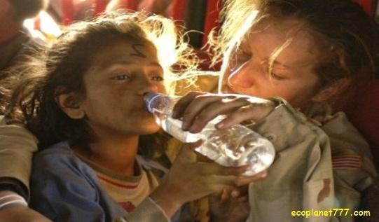 Нехватка чистой пресной питьевой воды