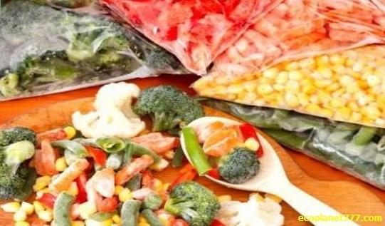Замораживание фруктов, ягод и овощей