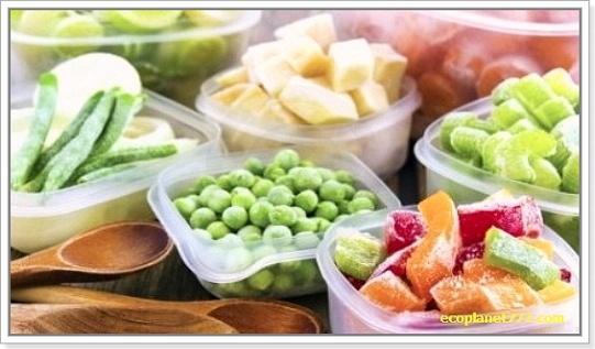 Правильная заморозка фруктов, овощей и ягод2