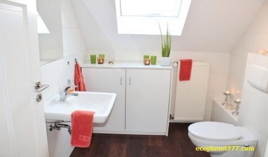 Современные туалеты используют много воды