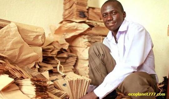 YELI компания по производству бумажных пакетов в Уганде