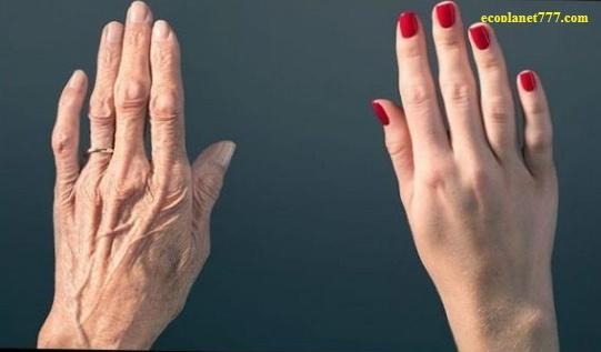 Молодость кожи рук