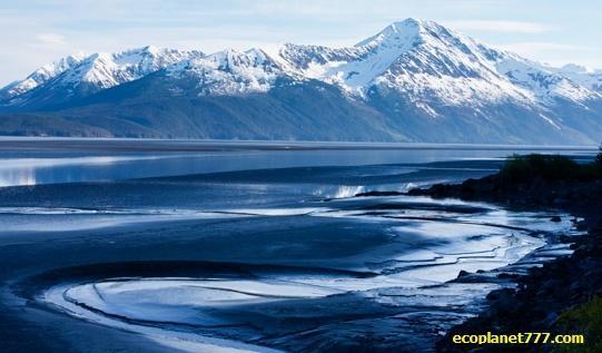 Озеро которое не замерзает