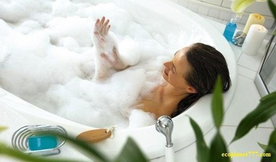 Натуральная пена для ванны