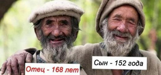 Феномен бессмертия племени хунза