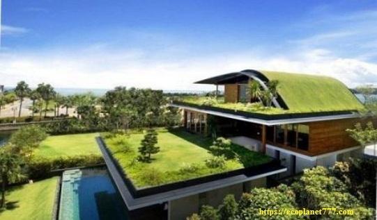 Идеальный экологически чистый дом
