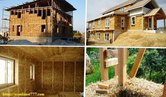 Строительство эко-дома