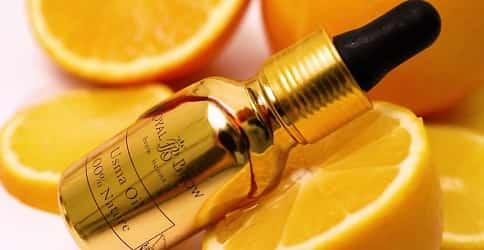 Лимон для роста ресниц и бровей