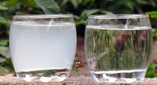 Отстаивание загрязненной воды